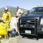 Pursuit ends in traffic collision