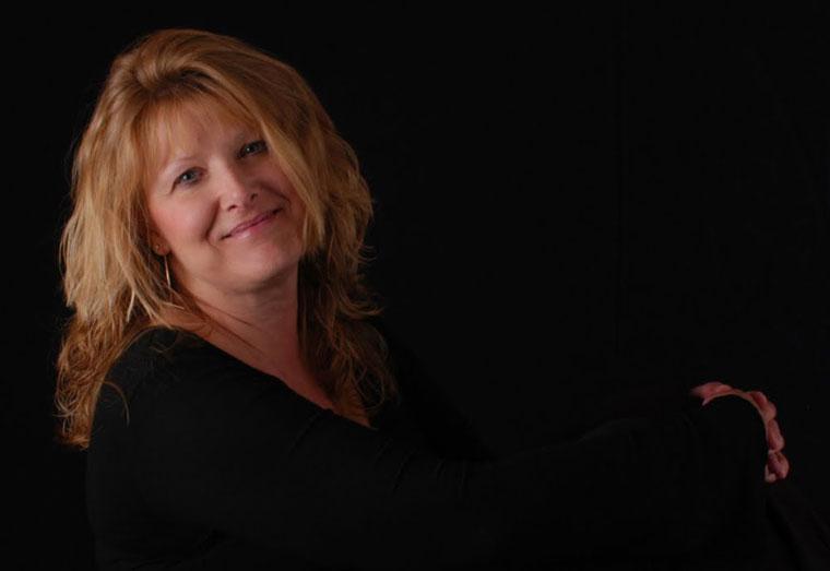 Featured artist of the week Kathy Harmon-Luber. Photo courtesy Kathy Harmon-Luber