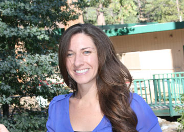 Jessie Ornelas-Mares is the new counselor at Idyllwild School. Photo by Marshall Smith