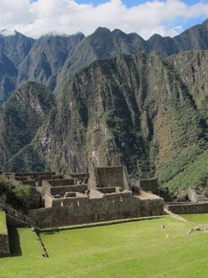Machu Picchu on a recent trip by James Reserve Assistant Director John Laundré. Photo courtesy John Laundré