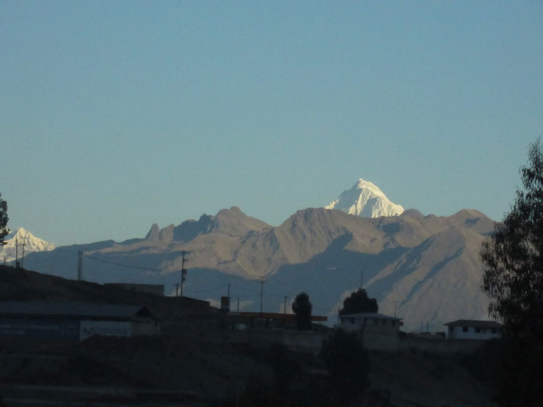 The San Jacinto Mountains, another sky island like Machu Picchu. Photo courtesy John Laundré