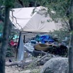 Squatter camps in Idyllwild