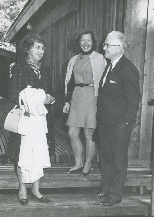Mickey Regal (center) with Bee and Max Krone in an undated photo.File photo