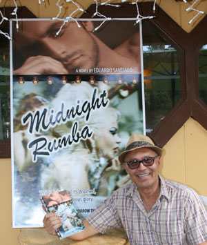 """Eduardo Santiago, Idyllwild author and founder of the Idyllwild Authors Series, plans to lead a literary tour to his native Havana, Cuba, to experience the scenes from his novel """"Midnight Rumba.""""Photo by Marshall Smith"""