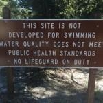 Lake Fulmor on EPA list: Fishing, no swimming