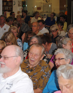 More than 125 people filled the Idyllwlld Library on Tuesday, Sept. 1. They attended the Mountain Disaster Preparedness group's El Niño and Hill event to learn more about the approaching weather condition and ways to prepare.