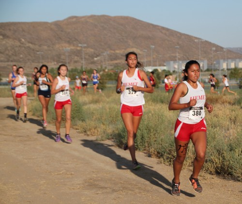 Arriana Felix, Idyllwild and a freshman at Hemet High School, finished 14th out of more than 100 freshmen and sophomore runners in Saturday's Bulldog Invitational.