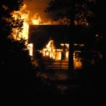 Scenic Drive house burns Sunday evening