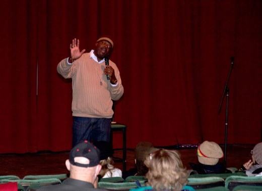 Comedian Skip Clark opens Comedy Night (Saturday, Dec. 12) at the Rustic Theatre.Photo by John Drake