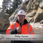 Caltrans shares video of boulder removal