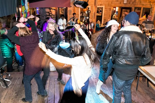 The Greg Jones Band played to a large and happy crowd at Café Aroma on New Year's Eve.Photo courtesy Philip Weber