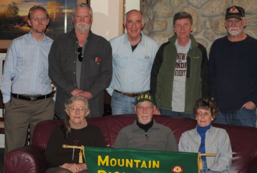 The Mountain Disaster Preparedness group held its first meeting of 2016 at Creekstone Inn last Tuesday, Jan. 19. The new board members (sitting, from left) are Françoise Frigola, Internet communications; Mike Feyder, president; and Sue Harper, secretary. Members (standing, from left) are Ian Schoenleber, vice president; Thom Wallace, DAS director; Dr. Dick Goldberg, medical coordinator; BJ Brix, communications; and Bob Edwards, treasurer. Not present were Lynn Voorheis and Jan Olsson, public relations, and GiGi Kramer, medical coordinator. Photo by JP Crumrine