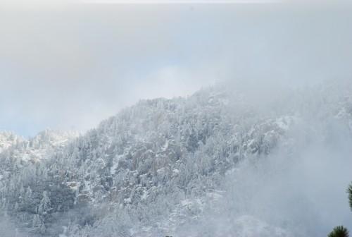 Tahquitz peak Wednesday morning, Jan. 6