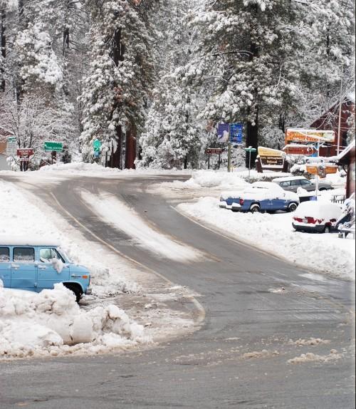 Highway 243 as it leaves town.