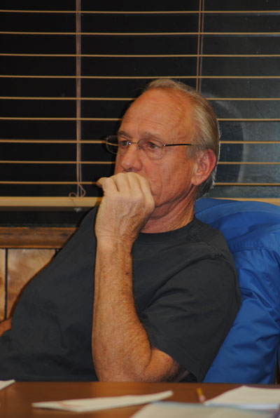Jim Billman, re-elected president of Idyllwild Water District Board of Directors. Photo by JP Crumrine