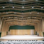 Lowman concert hall nearly complete