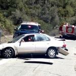 Three injured in traffic collision at Mountain Center