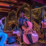'The Louie Blues' perform at Café Aroma
