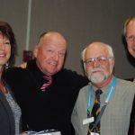 Melissa Churchill and Bob Leih honored at HUSD ceremony