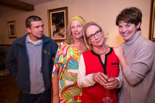 "The Idyllwild Actors Theatre presented a reading of Jon Robin Baitz's ""Other Desert Cities"" last weekend at the Rainbow Inn. The cast included (from left) Jacob Teel, Jeri Greene, Suzanne Avalon and Meg Wolfe. Not shown, but a member of this performance, was Howard Shangraw.Photo by Peter Szabadi"