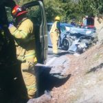 Traffic Collision on Highway 243 at Stone Creek