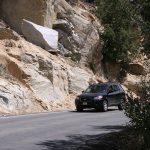Caltrans monitors rocks on slope sides