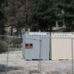 Storage containers in Fern Valley noticed by Code Enforcement
