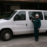 Forest Folk obtain second van: Supv. Washington delivers help