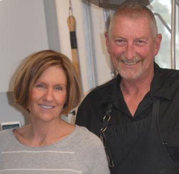 Janice Murasko and husband Robert Hewitt are this year's Ernie Maxwell Community Spirit Award recipients.