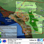 Weather Service issues flood advisory for Idyllwild and north