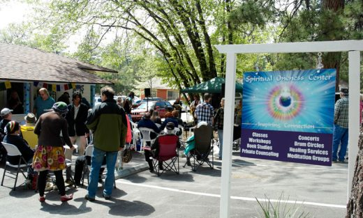 The Spiritual Oneness Center held an open house last weekend, described as a big success. Photo by Richard Barker