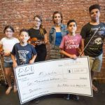 Art Alliance donates nearly $10,000