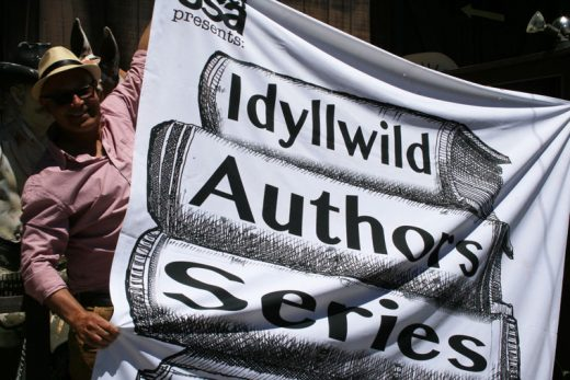 Eduardo Santiago, author, impresario and interviewer, promotes the sixth iteration of his Idyllwild Authors Series. Photo by Marshall Smith