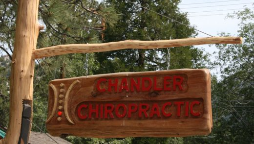 Dr. Lauren Chandler hung her shingle on North Circle Drive. Dr. Lauren Chandler is Idyllwild's newest chiropractor.Photos by Marshall Smith