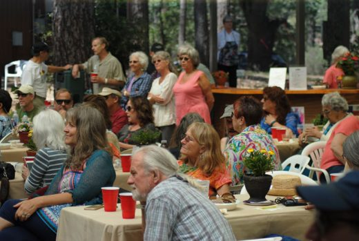 """The Idyllwild Community Center's """"Let's Build It"""" fundraising concert attracted a full house Saturday afternoon at Idyllwild Arts. Photo by J.P. Crumrine"""