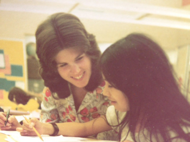 Barbara Longbrook, in 1976, at the start of her teaching career. Photo courtesy of Barbara Longbrook