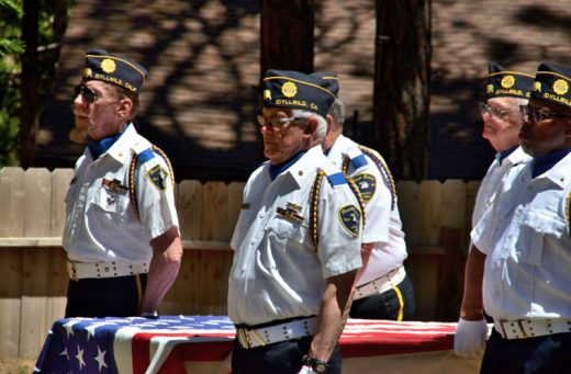 the American Legion Post 800 held its annual Memorial Day ceremony Monday. Photo by Tom Pierce
