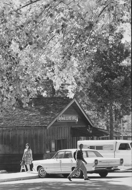 In 1966, the Idyllwild Post Office was located where Fratello's restaurant is today.File photo
