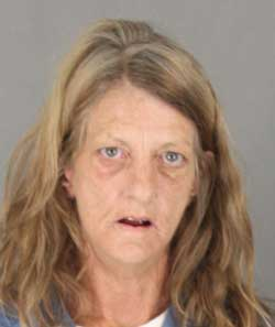 Traci Farley, suspected arsonist. Photo courtesy Riverside County Fire Department