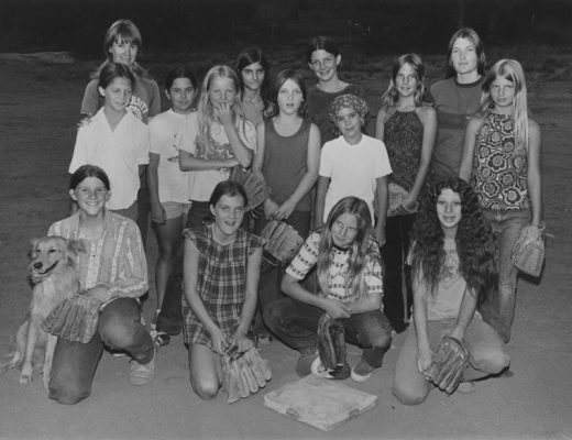 The Dare Devils, the girls softball winning team in September 1973. Front row, from left, Heidi Haden, Sherrie Doro, Carol Patton and Debbie Pavone. Back row, from left, Coach Cappi Duncan, Kellie Smith, Michelle Wemple, Janie Best, Kathy Schenk, Shelley Doro, Sheila Smith, Mary Clayton, Natalie Smith, Coach Jamie Doro and Tamara Hoffman. Not shown, Coach Marilyn O'Neil. File photo