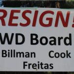 Signs in opposition to Idyllwild Water board appear