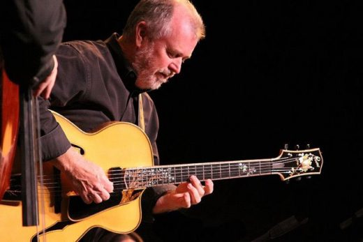 Guitarist Bob Boss brings his Latin-themed quintet to the Idyllwild Summer Concert Series on Thursday, Aug. 18. Idyllwild jazz icon Marshall Hawkins, a frequent Boss collaborator, joins for the ISCS performance. Photo courtesy Bob Boss