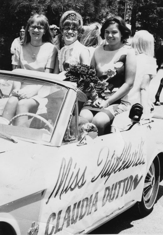 Claudia Dutton was named Miss Idyllwild in the annual Bear Flag Festival in 1968.   File photo