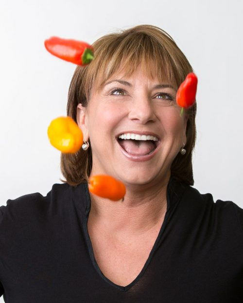 Chef Tanya Petrovna, founder of he Native Foods Café in Palm Springs, will be in Idyllwild Monday night for a special demonstration of making vegan food.  Photo courtesy Chef Tanya Petrovna