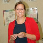 Lindsay Crater returns to teach at school she attended