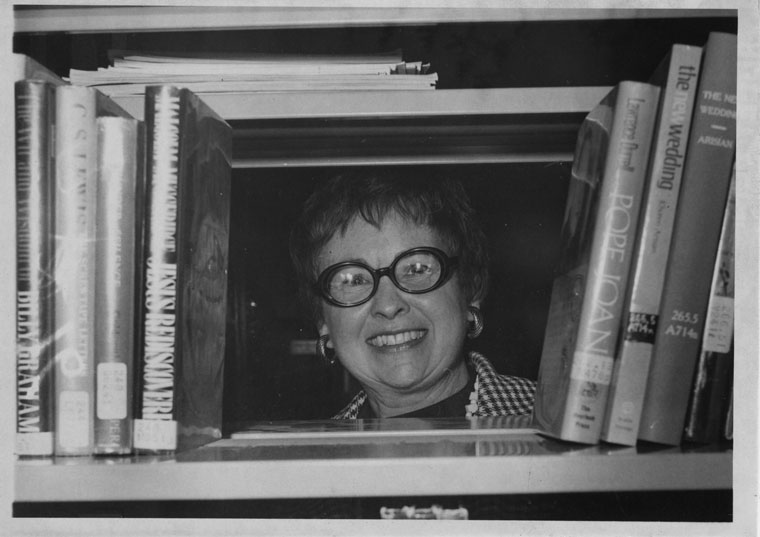 """Ruth Olive """"R.O."""" Maier was the new Idyllwild librarian in January 1975. According to her obituary in 2010, """"She worked as the school librarian at Desert Sun School in Idyllwild, Calif., and was then the head librarian of the Riverside County Library in Idyllwild, where Sam [her husband] was the pastor of the Idyllwild Community Presbyterian Church."""" She was 91 when she passed.File photo"""