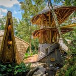 Bamboo for sustainable home building in Bali