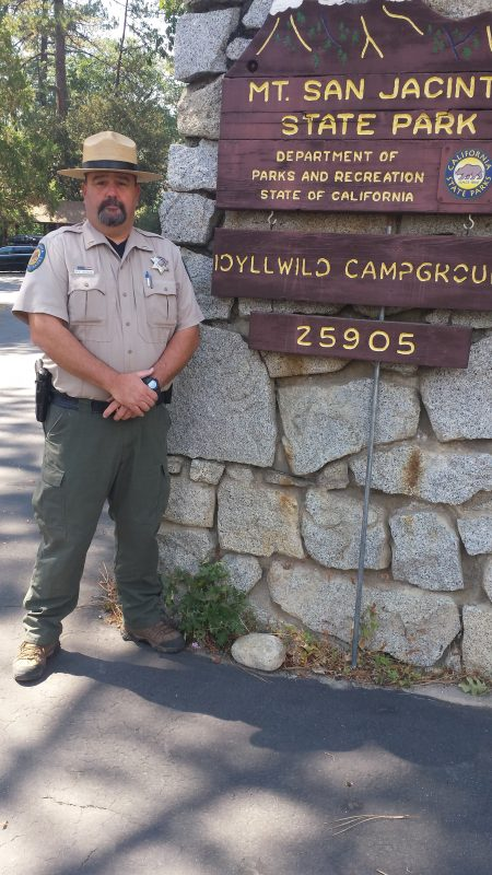 Mark Hudgens is the new Mt. San Jacinto State Park superintendent. Hudgens took up his new position in August of this year. Photo courtesy of Hudgens