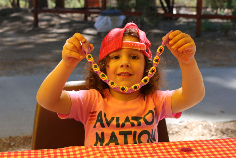 Logan Bakhtiar was one of many attendees to join the Family Fun Day at the Idyllwild Nature Center during Labor Day weekend.Photo by Alan Belanger