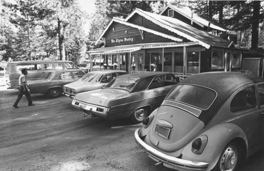 Cars at Alpine Pantry's new location (now Mile High Café) were proof of the restaurant's popularity in June 1972.File photo